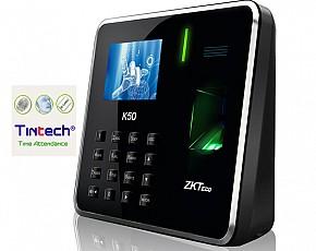 Máy chấm công vân tay Tintech ZKTeco K50